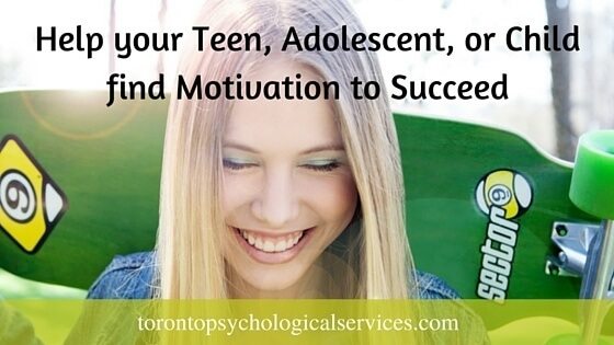 Help your Teen, Adolescent, or Child find Motivation to Succeed