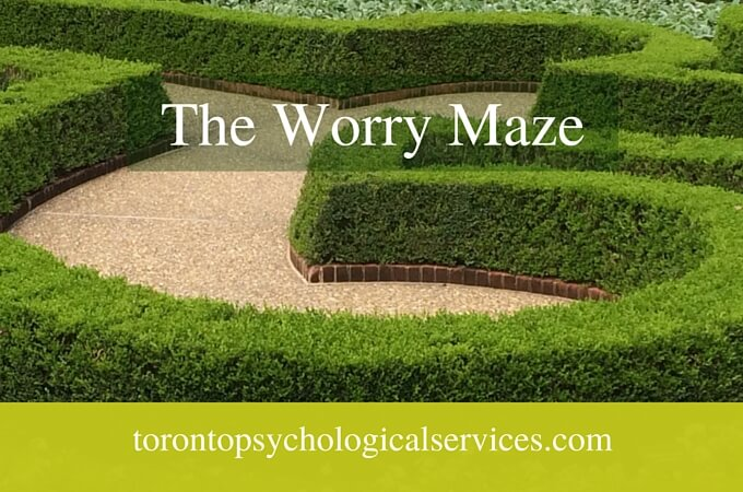 Worrying & Anxiety | The Worry Maze