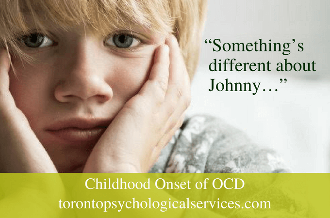 Childhood Onset of OCD