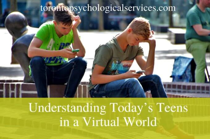 Understanding Today's Teens in a Virtual World